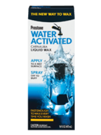 Prestone  Water Activated WAX